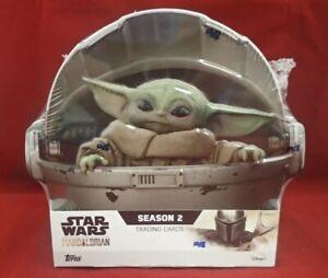 2021 Topps Star Wars The Mandalorian Season 2 Hobby Box  *PRESALE * (Ships 6/26)