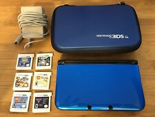 """Bundle: Used """"Almost newNintendo 3DS XL"""" with6 games and accessories"""