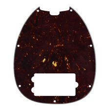 Bass Pickguard for Musicman Music Man MM2 4 String Guitar Parts Dark Brown