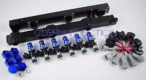fit Nissan 350z infinity g35 VQ35DE engine bosch 1000cc Fuel injectors rail
