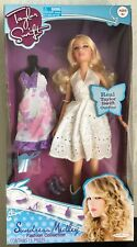 "Taylor Swift Fashion Collection 11"" Figure Doll Sundress Medley White Jakks"
