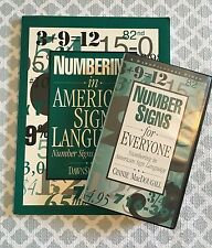 Numbering in American Sign Language; Number Signs for Everyone Workbook + VHS