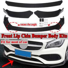 Front Bumper Lip Spoiler For Mercedes Benz W205 C180 C200 C250 C300 C400 C63 C43