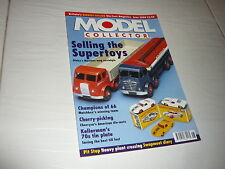 Model Collector Magazine 1:43 1:50 June 2000 Corgi Dinky Supertoy Cherryca Bus