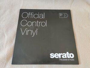 "12"" Serato Control Vinyl - Standard Colors - Black (PAIR)"