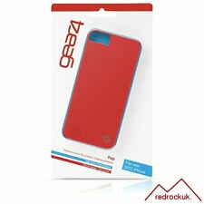 New Gear4 Pop Apple iPhone 5 5S High Gloss Clip on Protective Cover Case - Red