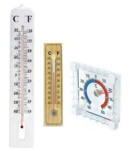Window or Large Outdoor Garden Thermometer Greenhoue Weather Temperature