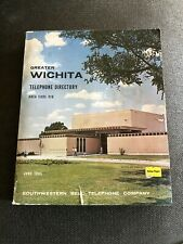 1965 Wichita Kansas Southwestern Bell Phone Directory White & Yellow Pages Vtg