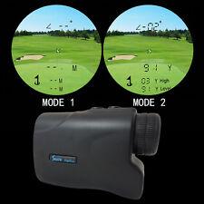 500M Golf Laser Range Finder w/ Angle Elevation Slope & pin Seeking Function