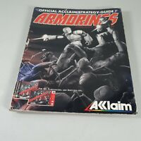 Armorines Official Acclaim Strategy Guide 1999 Magazine