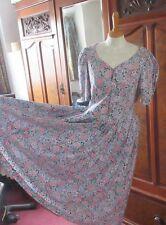 VINTAGE LAURA ASHLEY DRESS. BEAUTIFUL FABRIC & DETAIL. SIZE 12