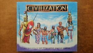 Civilization Board Game by Gibsons 1988 (Looks Unplayed)