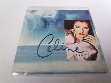"CELINE DION ""BECAUSE YOU LOVED ME"" CD SINGLE 2 TRACKS"