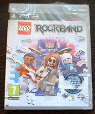 Jeu LEGO ROCKBAND sur PS3 NEUF sous blister VF
