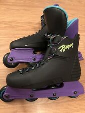 Retro roller Blades derby skates size 10 Men/unisex Phantom