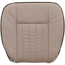 2005-2006 Lincoln Navigator Limited Perf & AC Driver Bottom Leather Cover - Tan