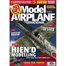 Model Airplane International Magazine November 2017 Issue 148 Hien'D Modelling