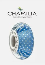 CHAMILIA Sterling Silver & Blue Murano Glass Bead Mystic Collection- Hyacinth