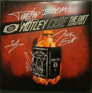 """MUST SEE! Autographed Motley Crue """"The Dirt"""" signed @ Movie Premier!!! RARE!!"""