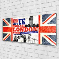 Acrylglasbilder Wandbilder aus Plexiglas® 125x50 London Flagge Kunst