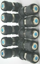 Lot 10 Coax Cable Barrel Union F81 RG6 Outdoor Connectors w/ WEATHER boots PPC