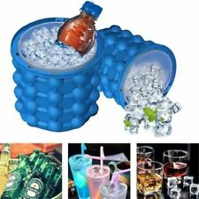 1pc Magic ICE CUBE Maker Bucket Silicone Genie Revolutionary Kitchen Tool Space