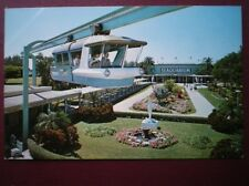 POSTCARD USA MIAMI SEAQUARIUM 'SPACE-RAIL'