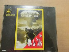 PC CD ROM WINDOWS 95 NATIONAL GEOGRAPHIC 1940S AND 1950S