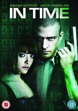 In Time Dvd Justin Timberlake Brand New & Factory Sealed