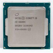 Intel Core i5-6600K 6M Skylake Quad-Core 3.5 GHz LGA 1151 91W Desktop Processor