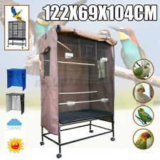 Large Parrot Pet Bird Cage Basket Cover Waterproof Oxford Cloth Universal Fit
