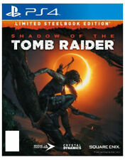 Shadow of the Tomb Raider - Limited Steelbook Edition (Sony PlayStation 4, 2018)