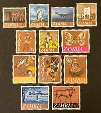Zambia. Pictorial Set. SG129/40. 1968. MNH. (D116)