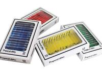 Prepared Microscope Slides Accurate Insects Plants Sample-Slide-Supply 12/48PCS