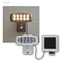 Powerspot Solarspot Bewegungsmelder 10 LEDs warmweiß Außenleuchte Lampe Leuchte
