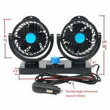 Car Fan For Car Alternative 12V Plug In Vehicle Fan Dash Mount US SHIP!