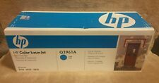 HP Q3961A Cyan Toner Cartridge OEM Genuine NEW 122A LaserJet 2550 2820 2840