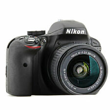 Nikon D3300 24.2 MP Digital SLR Camera Black with AF-P 18-55mm VR Lens