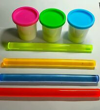 Childrens non stick Acrylic rolling pins / play doh /clay child friendly