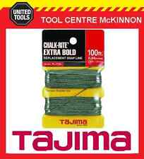 TAJIMA CHALK-RITE EXTRA BOLD REPLACEMENT 30m SNAP LINE – 1.0mm