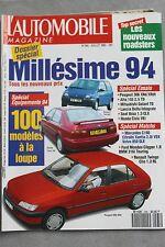 L'automobile - N° 565 - Twingo Honda Civic VEi Peugeot 306 XNd - Juil 93