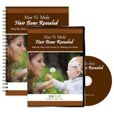 How To Make Hair Bows Revealed - Hair Bow Instructions - DVD + e-Manual + Videos