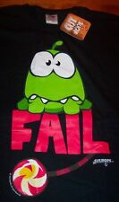 CUT THE ROPE EPIC FAIL Video Game T-Shirt MEDIUM NEW w/ TAG