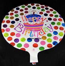 18 INCH/46CM HAPPY BIRTHDAY CUPCAKE HELIUM BALLOON PARTY BIRTHDAYS BALLOONS