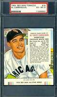 Chico Carrasquel Psa Ex Mt 6 1954 Redman