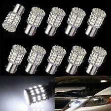10x BAY15D 1157 Car Tail Stop Brake Light Super Bright 64 SMD LED Bulb 12V White