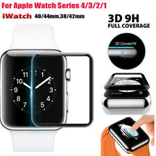 Para Apple Watch 40 44mm serie 4 3/2/1 vidrio templado 3D Protector de pantalla