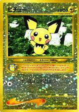 POKEMON TCG Pichu No.172 JAP NEAR MINT FOIL HOLO