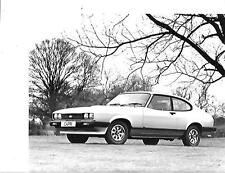 "FORD Capri GL PRESS PHOTO ""brochure"" correlate ""MARZO 1978"