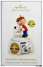 Hallmark Ornament Peanuts Snoopy Charlie Brown 60 Anniv 2009 Low Price! Compare!